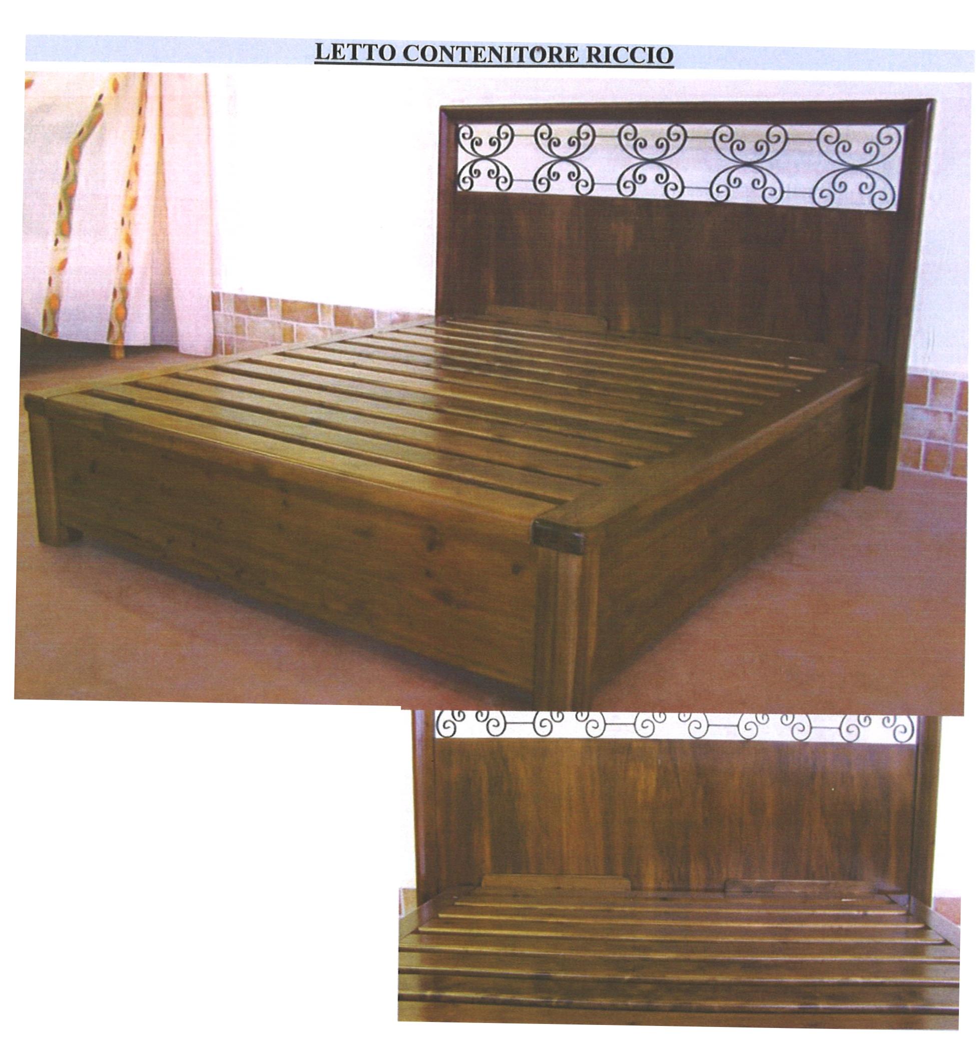 ... molle 16 24 molle reti con contenitore in legno massello sommier